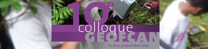 Colloque Geofcan